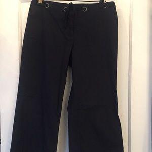 J. Crew Navy Blue Wide Leg Pants Size 4
